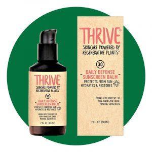 Thrive Natural Moisturizing Mineral Face Sunscreen