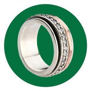 Indah Koin Believe Meditation Ring