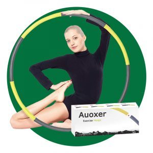 Auoxer Exercise Weighted Hoop