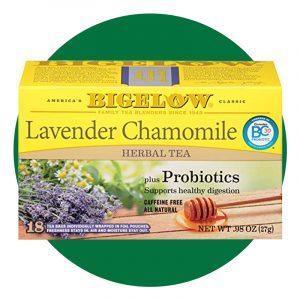 Bigelow Tea Lavender Chamomile Plus Probiotics