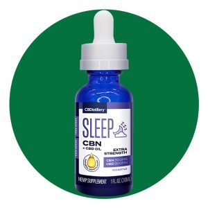 Extra Strength Cbn And Cbd Sleep Tincture