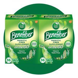 Benefiber On The Go Prebiotic Fiber Supplement Powder