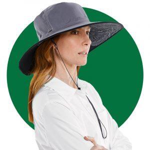 Coolibar Womens Etta Shapeable Sun Catcher Hat Upf 50