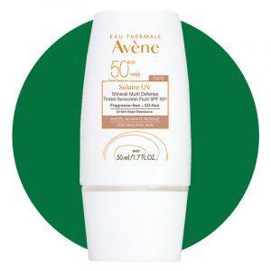 Eau Thermale Avene Solarie Uv Mineral Multi Defense Tinted Sunscreen