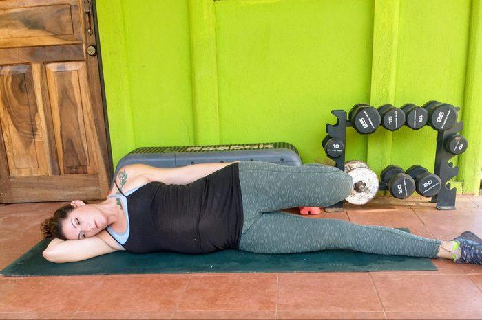 Side-Lying Quad Stretch