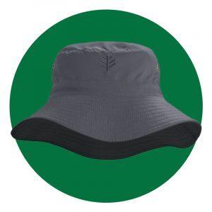 Mens Landon Reversible Bucket Hat Upf 50