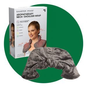 Sharper Image Aromatherapy Neck And Shoulder Wrap