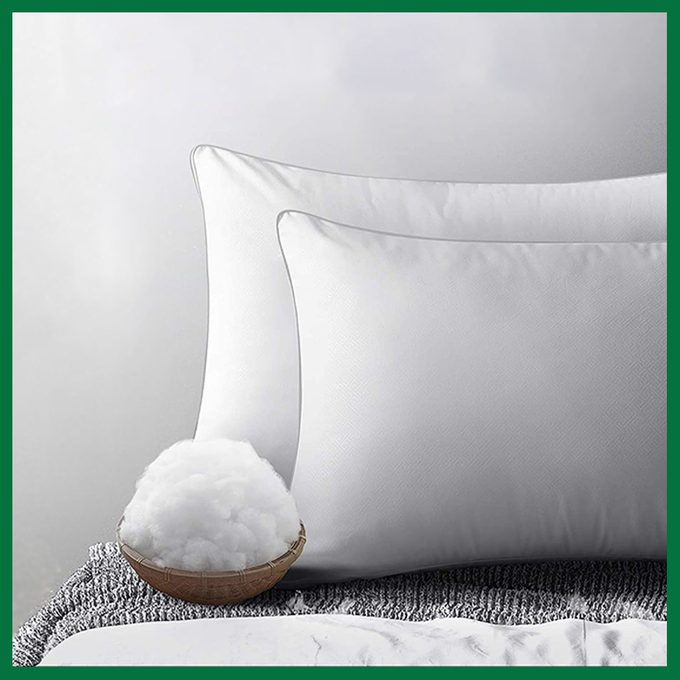 Viewstar Hypoallergenic Pillow For Side And Back Sleepers