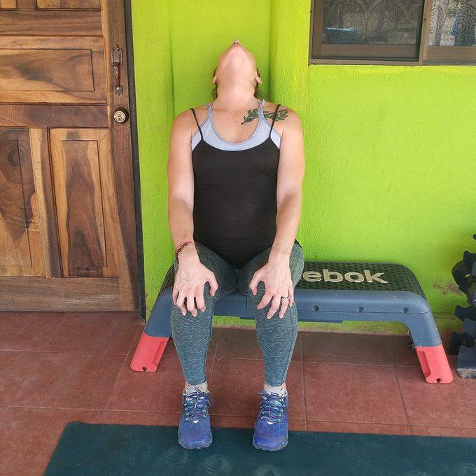Neck Extension Stretch