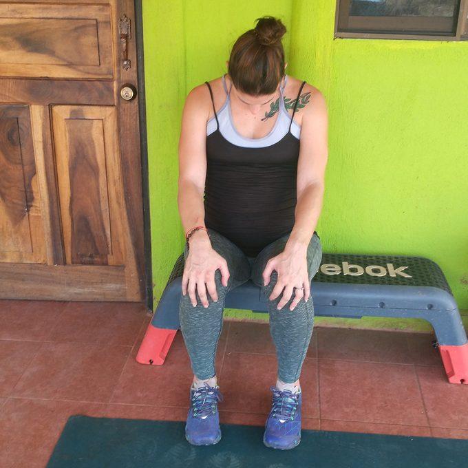 Neck Flexion Stretch