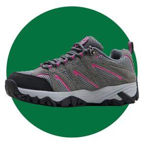 Bomkinta Womens Anti Slip Lightweight Breathable Hiking Shoe