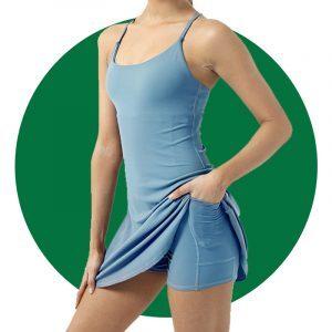 Halara Everyday Workout Dress Wannabe