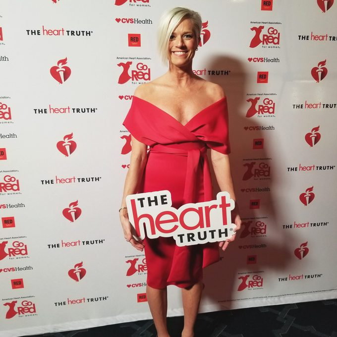 Jenny Petz at the heart truth event
