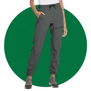 Baleaf Womens Hiking Cargo Pants
