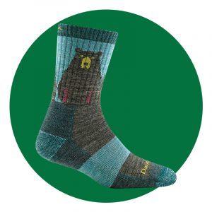 Darn Tough Bear Town Micro Crew Socks