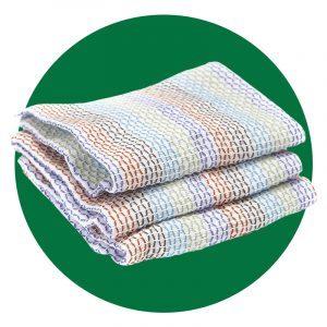 Full Circle Tidy 100 Percent Organic Cotton Dish Cloths