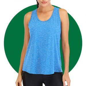Ictive Workout Tops For Women Loose Fit Racerback Tank Top