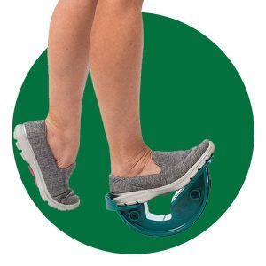 Foot Rocker Step Stretch